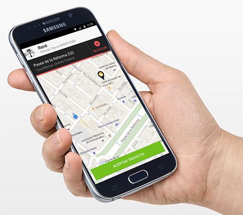 Aplicação de Motorista Privado Cabify