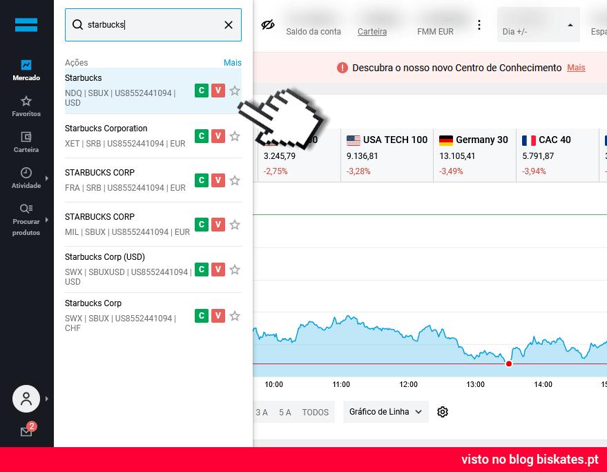 Como comprar ações na DEGIRO