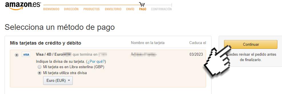 Como comprar produtos na Amazon Espanha