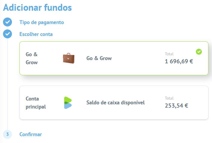Como depositar dinheiro na Bondora