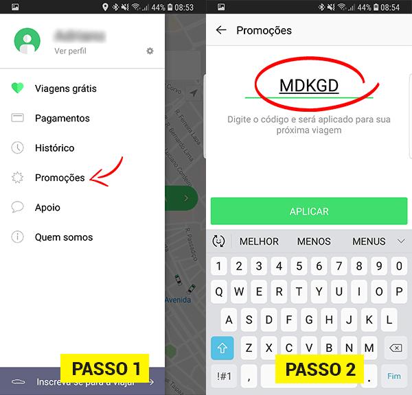 Como usar o código Taxify viagem grátis