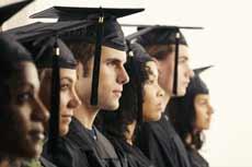 Jovens universitários