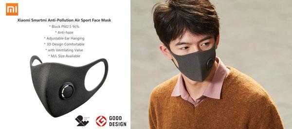 Máscara proteção coronavírus Xiaomi