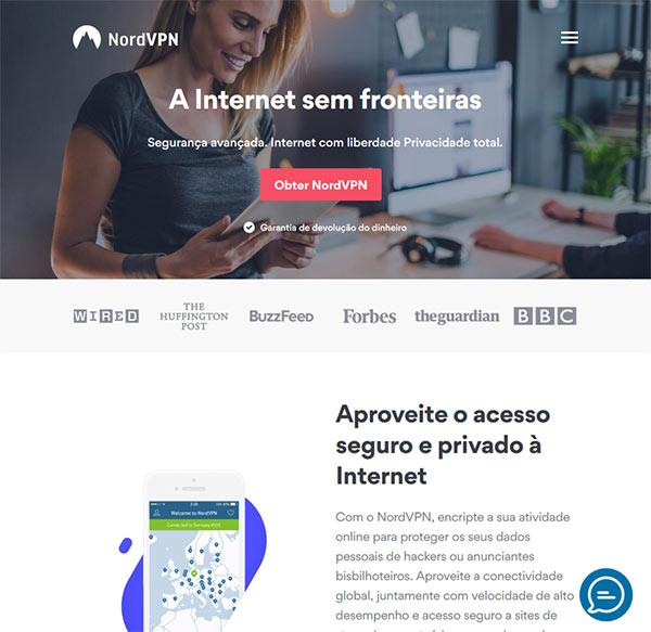 NordVPN VPN em Portugal