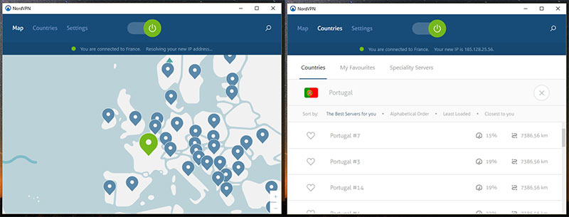 NordVPN para Windows