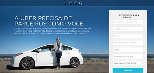 Ganhar Dinheiro com a Uber