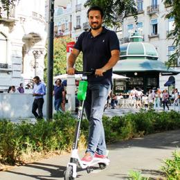 Scooters Elétricas Lime em Lisboa