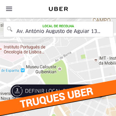 Truques UBER