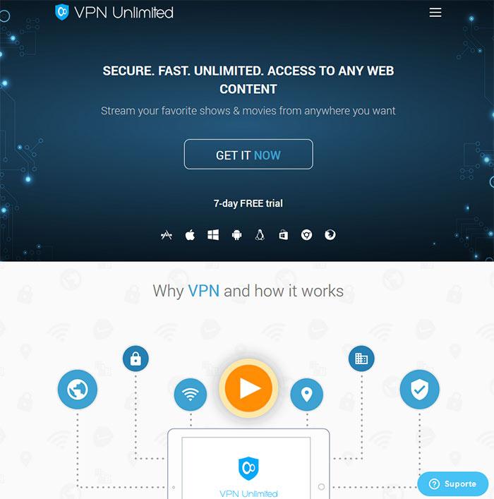 VPN Unlimited análise